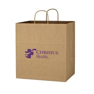Kraft Paper Brown Shopping Bag - 14